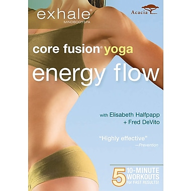 Exhale - Core Fusion Yoga - Energy Flow (Acacia) (DVD)