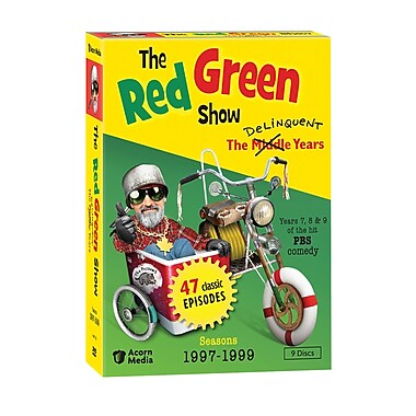The Red Green Show:The Delinquent Years: Seasons 1997-1999 (DVD)