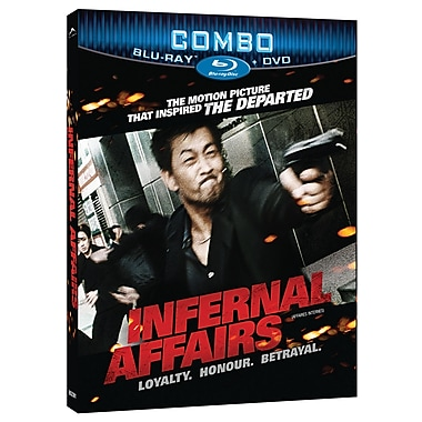 Infernal Affairs (Blu-Ray + DVD)