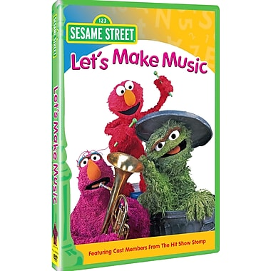 Sesame Street:Lets Make Music (Ff) (DVD)