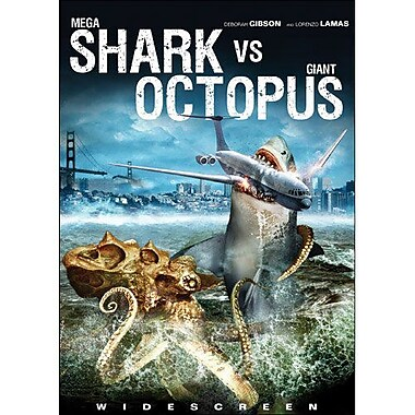 Mega Shark vs Giant Octopus (DVD)