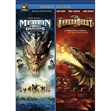 Dragonquest/Merlin and the War of the Dragons (DVD)