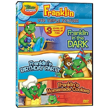Franklin Triple Feature: Franklin's Birthday Party/Franklin in the Dark/Franklin's Homemade Cookies (DVD)
