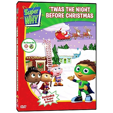 Super Why: 'twas The Night Before Christmas (DVD)