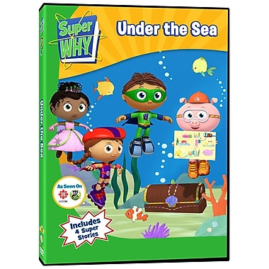 Super Why: Under the Sea (DVD)