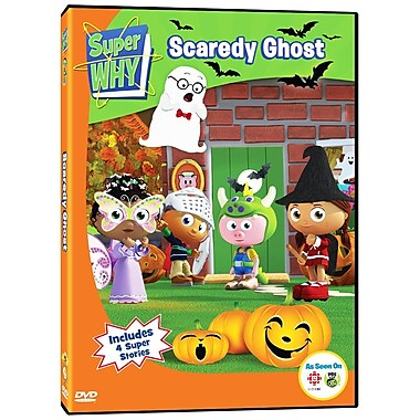 Super Why: Scaredy Ghost (DVD)