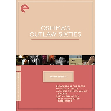 Oshima's Outlaw Sixties: Eclipse Series 21 (DVD)