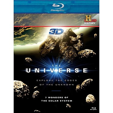 The Universe : 7 Wonders of the Solar System 3D (3D Blu-Ray)