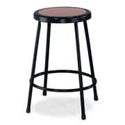 "National Public Seating 24"" Task Stool, Black, 4/Pack (62244)"