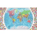 Replogle World Wall Map, 33in. x 49in.