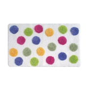 "InterDesign® 34"" x 21"" Cotton Glee Bath Rugs"