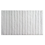 "InterDesign® 34"" x 21"" Verto Polyster Bath Rug, White"
