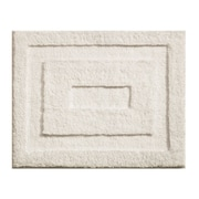 "InterDesign® 21"" x 17"" Spa Small Polyster Bath Rug, Natural"