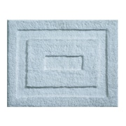 "InterDesign® 21"" x 17"" Spa Small Polyster Bath Rug, Water"