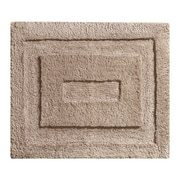 "InterDesign® 21"" x 17"" Spa Small Polyster Bath Rug, Linen"