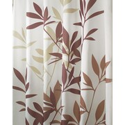 "InterDesign® 54"" x 78"" Leaves Polyester Stall Size Shower Curtains"