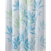"InterDesign® 72"" x 72"" Leaves Polyester Shower Curtains"