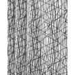 InterDesign® 72in. x 72in. Abstract Polyester Shower Curtain, Black/White