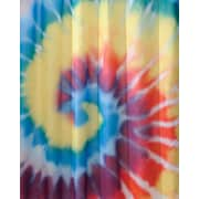 "InterDesign® 72"" x 72"" Tie Dye Polyester Shower Curtain"