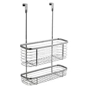 InterDesign® Axis Over The Cabinet X3 Basket, Silver
