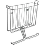 InterDesign® Classico Wall Mount Magazine and Tissue Holder, Chrome