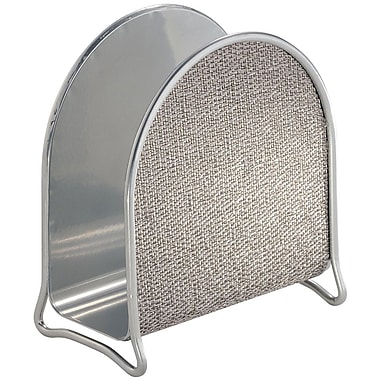 InterDesign® Twillo Napkin Holder, Metallico