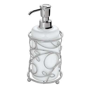 InterDesign® Twigz Soap Pump, Silver/White