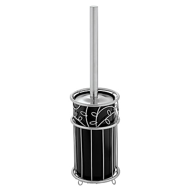 InterDesign® Twigz Blow Brush, Silver/Black