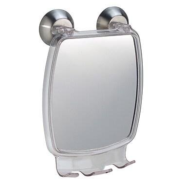 InterDesign® Forma Powerlock Suction Fog Free Rectangular Mirror, Clear
