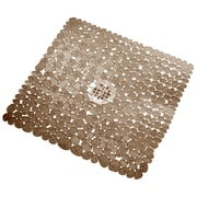 "InterDesign® 22"" x 22"" Pebblz Square Shower Mats"