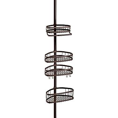 InterDesign® York Tension Shower Caddy, Bronze
