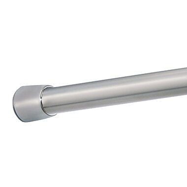 InterDesign® Forma Small Shower Curtain Tension Rod, Brushed Stainless Steel