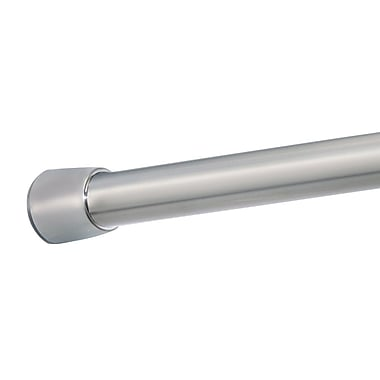 InterDesign® Forma Medium Shower Curtain Tension Rod, Brushed Stainless Steel