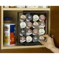 Nifty Home Products Coffee Pod Cabinet Storage System