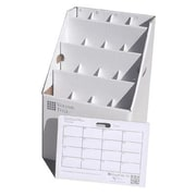Advanced Organizing Systems 16 Slot Rolled Document Rolled Filing Box