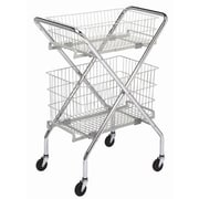 Brewer Wire Basket Utility Cart; 6''