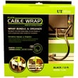 UT Wire Cable Management 12 Ft Flexi Cable Wrap