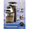 Toastmaster Burr Coffee Grinder in Black