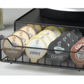 Nifty Home Products Coffee Pack Rolling Drawer