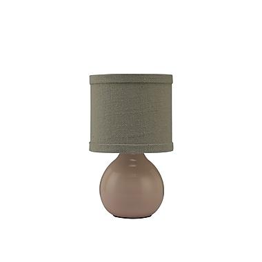 AHS Lighting Fremont Ceramic Accent Lamp, Pink
