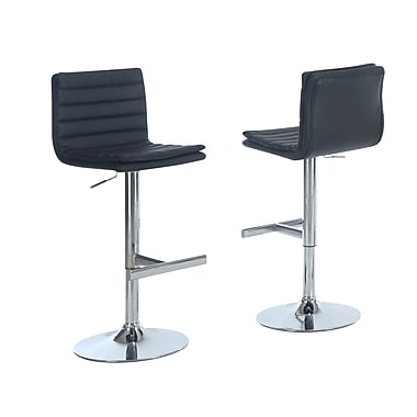 Monarch Specialties Inc. I 2356 Bar Stool, Black