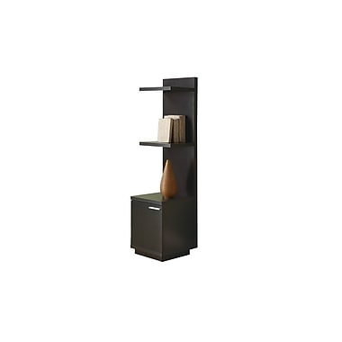 Monarch Hollow Core Audio and Display Tower, Cappuccino