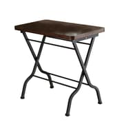 Monarch 23 MDF/Metal Folding Accent Table, Cherry