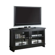 "Monarch 48"" Veneer TV Console, Black"