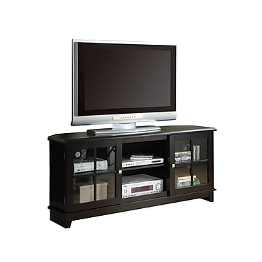 Monarch 60in. Veneer TV Console, Black