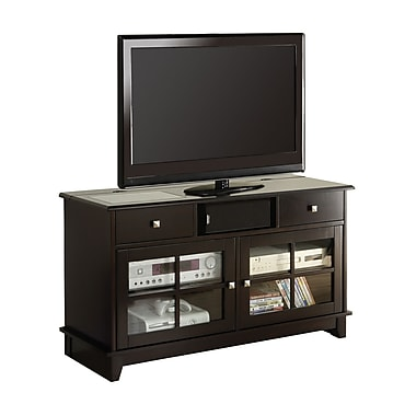 Monarch 48in. Veneer in.Connect-Itin. TV Console, Dark Espresso