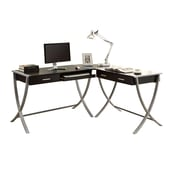 Monarch Specialties I 7176 Hollow-Core Corner Desk, Cappuccino