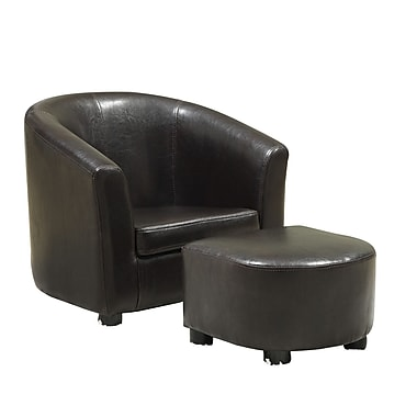 Monarch Leather Juvenile Chair/Ottomans