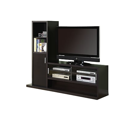 Monarch 71in. Hollow Core Entertainment Center, Cappuccino
