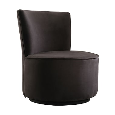 HomeBelle Faux Leather Accent Chair (78489)